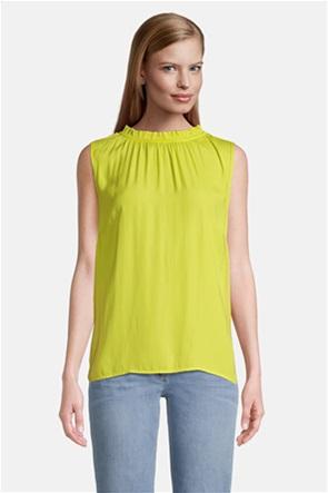 Betty Barclay γυναικεία μπλούζα με σούρες αμάνικη