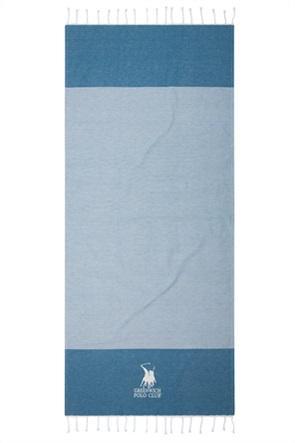 """Greenwich Polo Club πετσέτα θαλάσσης - παρεό """"Essential"""" με ριγέ σχέδιο 80 x 180 cm"""