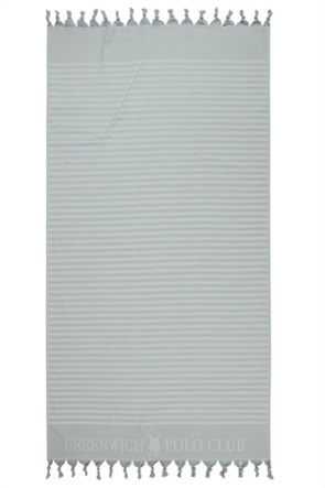 """Greenwich Polo Club πετσέτα θαλάσσης - παρεό """"Essential"""" με ριγέ σχέδιο 90 x 170 cm"""