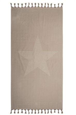 """Greenwich Polo Club πετσέτα θαλάσσης - παρεό """"Essential"""" με αστέρι 90 x 170 cm"""