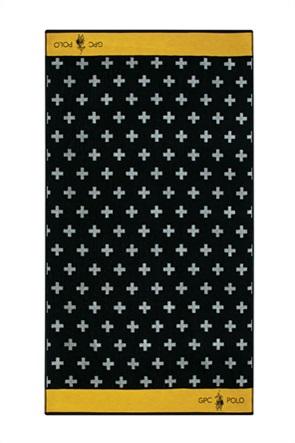 """Greenwich Polo Club πετσέτα θαλάσσης με γεωμετρικά print """"3551"""" 90 x 170 cm"""