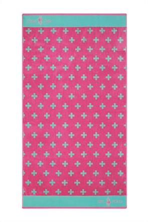 """Greenwich Polo Club πετσέτα θαλάσσης με γεωμετρικά print """"3552"""" 90 x 170 cm"""