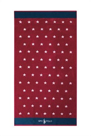 """Greenwich Polo Club πετσέτα θαλάσσης με all-over print """"3557"""" 90 x 170 cm"""