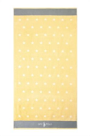 """Greenwich Polo Club πετσέτα θαλάσσης με all-over print """"3559"""" 90 x 170 cm"""