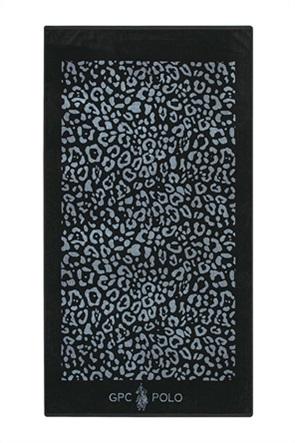 """Greenwich Polo Club πετσέτα θαλάσσης με animal print """"3564"""" 90 x 170 cm"""