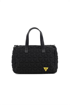"""Y Not? γυναικεία τσάντα χειρός με καπιτονέ σχέδιο """"Vertigo"""""""