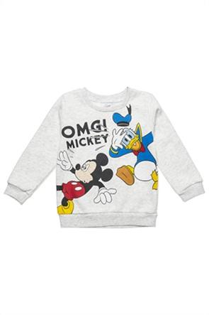 "Alouette βρεφική μπλούζα φούτερ με ανάγλυφο print ""Disney"" (9 μηνών-3 ετών)"