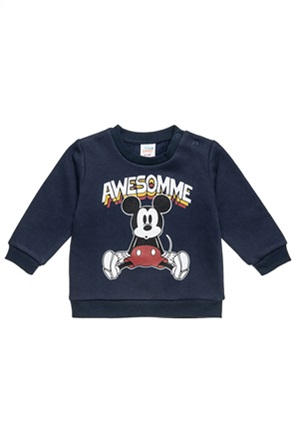 "Alouette βρεφική μπλούζα φούτερ με print ""Disney Mickey Mouse"" (9 μηνών-3 ετών)"