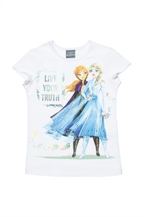 "Alouette παιδικό T-shirt με print ""Disney Frozen"" (3-5 ετών)"