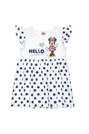 "Alouette παιδικό φόρεμα πουά με print ""Disney Minnie Mouse"" (18 μηνών-5 ετών)"