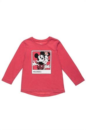 "Alouette βρεφική μπλούζα με print ""Disney Mickey & Minnie Mouse"" (12 μηνών-3 ετών)"