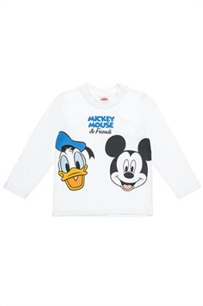 """Alouette παιδική μπλούζα με print """"Disney Mickey & friends""""(12 μηνών-5 ετών)"""