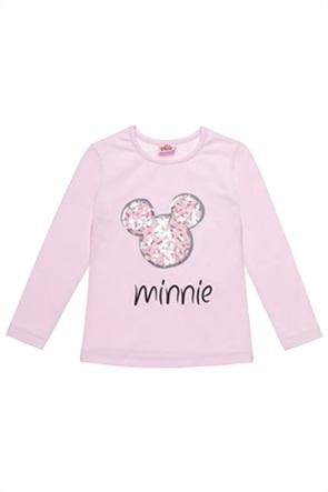 """Αlouette παιδική μπλούζα με παγιέτες """"Disney Minnie Mouse"""" (18 μηνών-5 ετών)"""
