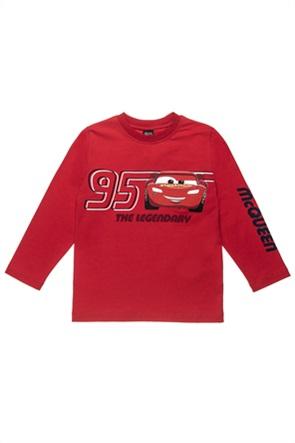 """Αlouette παιδική μπλούζα με print """"Disney Cars Lightning McQueen"""" (2-8 ετών)"""