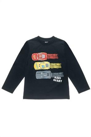 """Αlouette παιδική μπλούζα με graphic print """"Disney Cars"""" (2-8 ετών)"""
