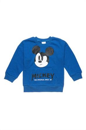 "Alouette βρεφική μπλούζα φούτερ με print ""Disney Mickey Mouse"" (12 μηνών-3 ετών)"