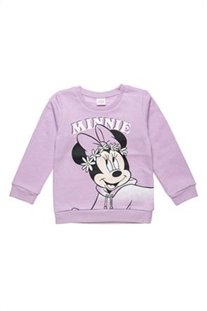 "Alouette βρεφική μπλούζα φούτερ με print ""Disney Minnie Mouse"" (12 μηνών-3 ετών)"