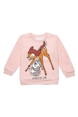 """Alouette βρεφική μπλούζα φούτερ με print """"Disney Bambi & Thumper"""" (12 μηνών-3 ετών)"""
