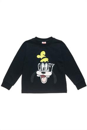 """Αlouette παιδική μπλούζα φούτερ με graphic print """"Disney Goofy""""(18 μηνών-5 ετών)"""