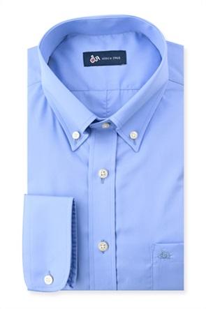 Dur ανδρικό μονόχρωμο πουκάμισο με τσέπη στο στήθος