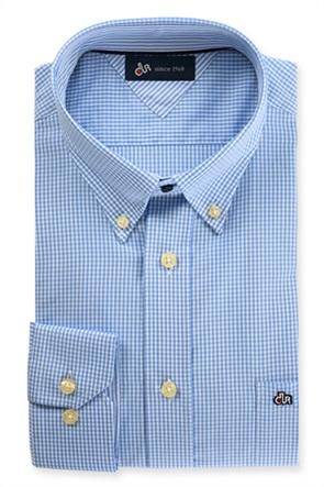 Dur ανδρικό πουκάμισο με μικρό καρό Vichy