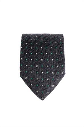Dur ανδρική γραβάτα με πουά σχέδιο