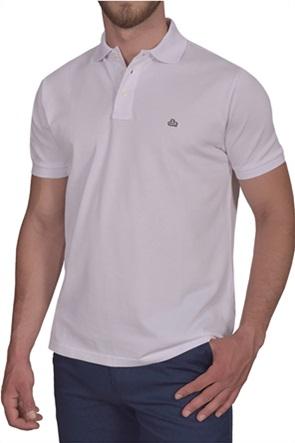 Dur ανδρική πόλο πικέ μπλούζα με κεντημένο λογότυπο
