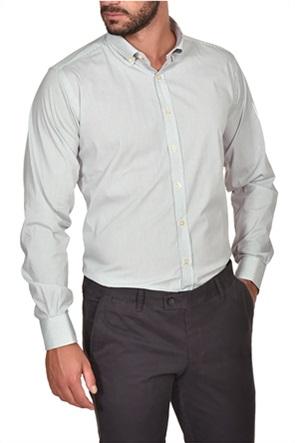 Dur ανδρικό stretch ριγέ πουκάμισο
