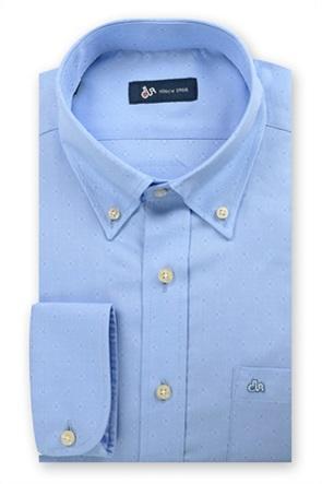 Dur ανδρικό πουκάμισο Oxford με μικροσχέδιο