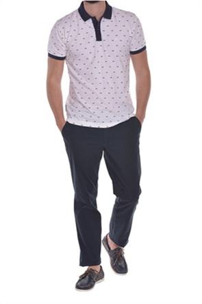 Dur ανδρική πόλο μπλούζα με μικροσχέδιο ''Vespa''