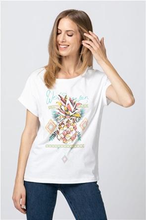 Billy Sabbado γυναικείο T-shirt με pineaple print