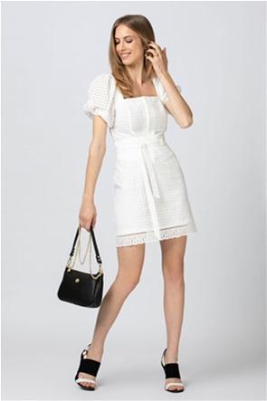 Billy Sabbado γυναικεία mini φούστα με διάτρητο σχέδιο