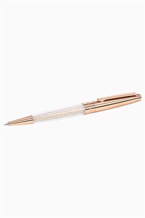 Swarovski Crystalline Stardust Ballpoint Pen, Rose gold Plated
