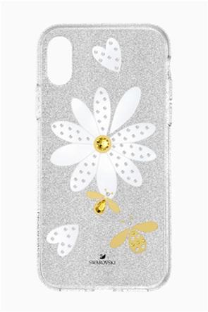 Swarovski Eternal Flower Smartphone Case with Bumper, iPhone® X/XS