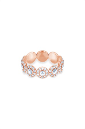 Swarovski Angelic Ring, White, Rose-gold tone plated