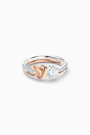 Swarovski Lifelong Heart Ring, White, Mixed metal finish