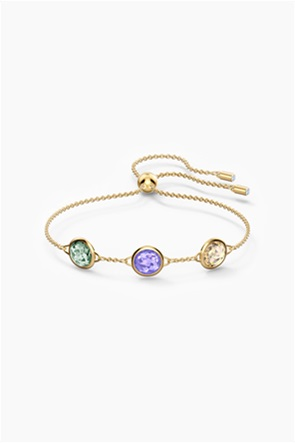 Swarovski Tahlia Bracelet, Multicolored, Gold-tone plated