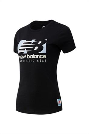 New Balance γυναικείο αθλητικό T-shirt ''Field Day''