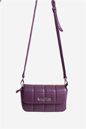 Valentino by Mario Valentino γυναικεία τσάντα crossbody καπιτονέ με μεταλλικό logo