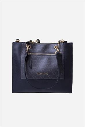 Valentino by Mario Valentino γυναικεία τσάντα ώμου με letter logo print