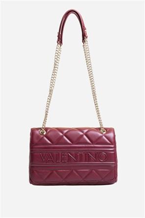 Valentino by Mario Valentino γυναικεία τσάντα ώμου με καπιτονέ σχέδιο και αλυσίδα