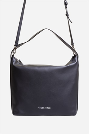 Valentino by Mario Valentino γυναικεία hobbo τσάντα με μεταλλικό letter logo