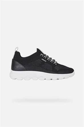 Geox γυναικεία mesh sneakers με logo print ''Spherica''