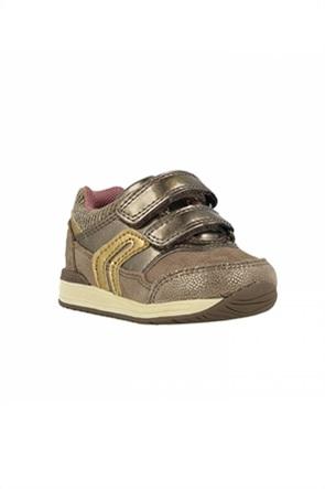 "Geox βρεφικά sneakers με διπλό velcro ""Rishon"""