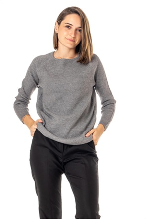 "Emme by Marella γυναικεία πλεκτή μπλούζα με ribbed σχέδιο ""Duel"""