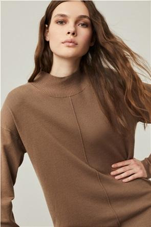 "Emme by Marella γυναικεία πλεκτή μπλούζα ζιβάγκο oversized ""Accenni"""