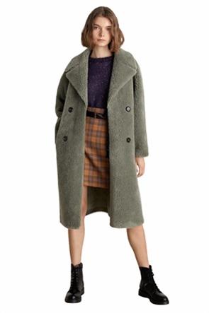 """Emme by Marella γυναικείο γούνινο παλτό """"Teddy"""""""