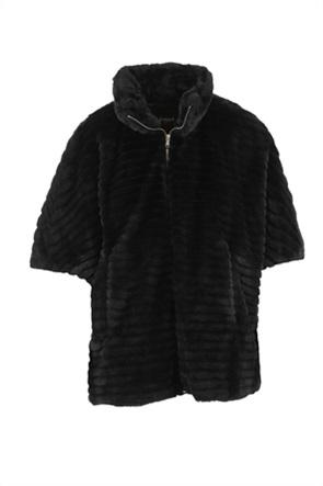 "Emme by Marella γυναικείο γούνινο παλτό με μανίκι 3/4 ""Idillio"""