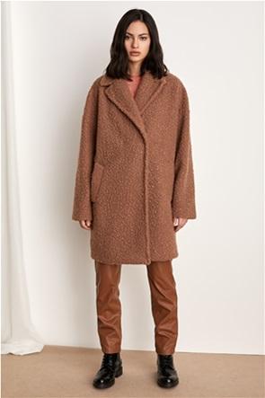 "Emme by Marella γυναικείο παλτό μπουκλέ ""Infante"""
