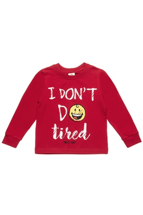 "Alouette βρεφική μπλούζα με print ""Smiley"" (18 μηνών-3 ετών)"